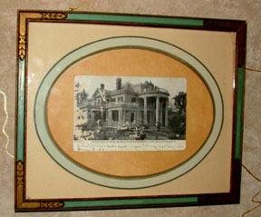 Framed 1907 Postcard